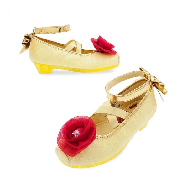 La Bella Y Bestia Zapatos Talla 13-1 Disfraz Disney Store