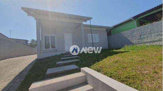 Casa Com 3 Dormitórios À Venda, 126 M² Por R$ 395.000,00 - Rondônia - Novo Hamburgo/rs - Ca2402