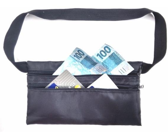 Pochete Porta Dolar Doleira Money Belt Anti-furto Ref 232