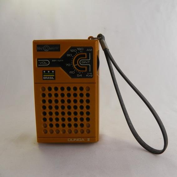 Rádio Motoradio Rp-m11 Dunga Ii - Usado C/ Defeito