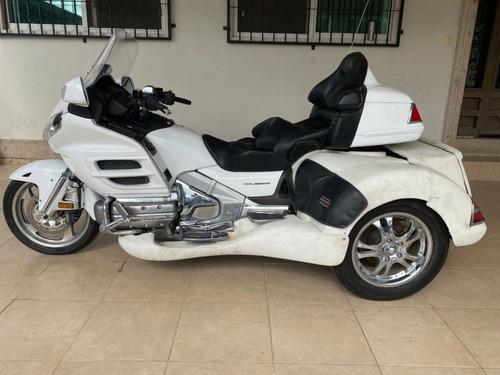 Imagen 1 de 13 de Triciclo Honda Goldwing Gl1800 Roadsmith 2008 Blanco Trike