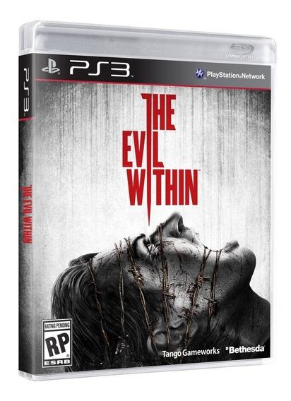 Jogo Novo Lacrado The Evil Within Para Playstation 3 Ps3