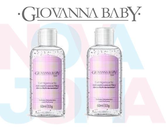 Álcool Em Gel 70% Giovanna Baby C/02 Un Classic 60ml