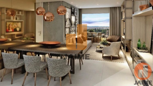 Apartamento Novo, No Sumaré, 74 M, 2 Suítes, 2 Vagas, Com Lazer Completo. - Ja13103