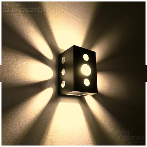 Imagen 1 de 10 de Luces Decorativas Bares Resto Bar Iluminacion Exterior P Led
