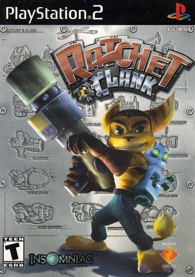 Ratchet Ckank Playstation 2 Novo Lacrado Original Ntsc