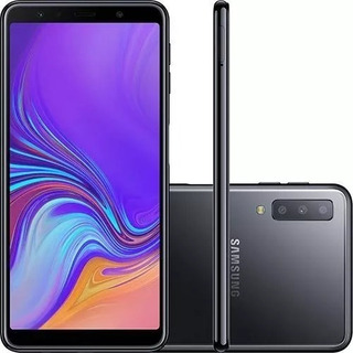 Smartphone Samsung Galaxy A7 128gb Dual Chip Android 8.0
