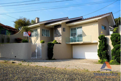 Casa Residencial À Venda, Orfãs, Ponta Grossa. - Ca0388