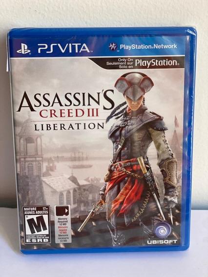 Jogo Assassins Creed Ill Liberation Psvita-novo-lacrado