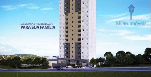 Imagem 1 de 7 de Apartamento 2 Dormitórios À Venda, 51m², Em Sorocaba/sp - Ap1158