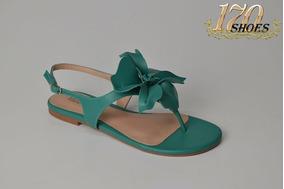 Rasteiras Sandalias Rasteirinhas Verd Lançamento - 170 Shoes