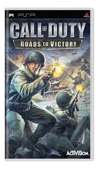 Call Of Duty Roads To Victory Psp Mídia Física