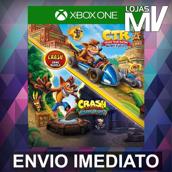 Crash Bandicoot N. Sane Trilogy + Ctr - Xbox One Código