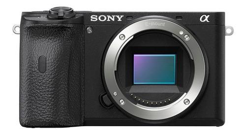 Sony Alpha 6600 16-55mm G Kit sin espejo color  negro