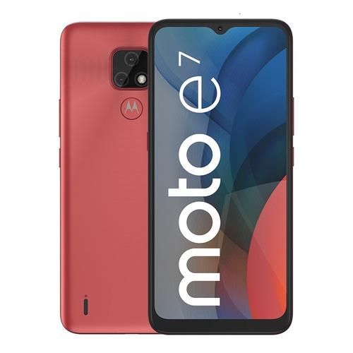 Imagen 1 de 5 de Celular Motorola Moto E7 32gb Rojo