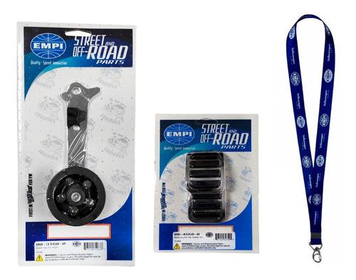 Imagem 1 de 5 de Pedal Acelerador Roller Nylon Fusca E Capa Pedal Empi