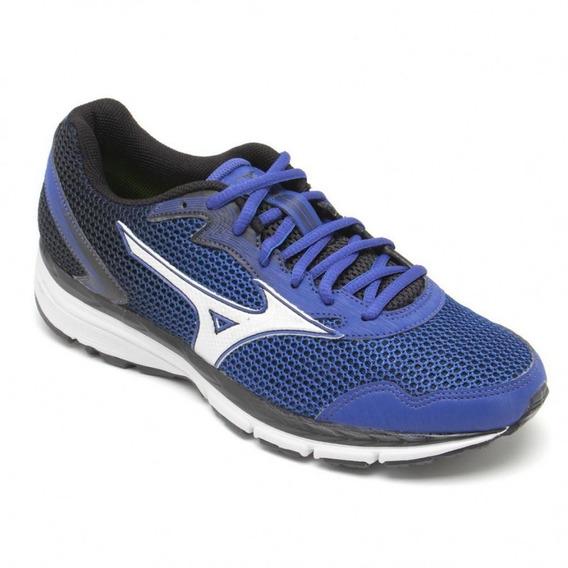 Tênis Masculino Running Mizuno Brave 2 N 4140671 Azul