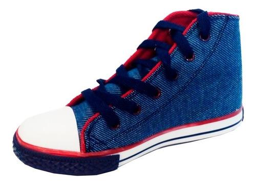 Imagen 1 de 10 de Zapatillas Botitas Jean   Small  Modelo Russ (0947)
