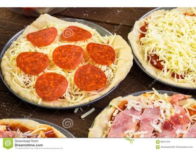 Pizzas Individuales Para Fiestas Y Reuniones Y Algo Más.....