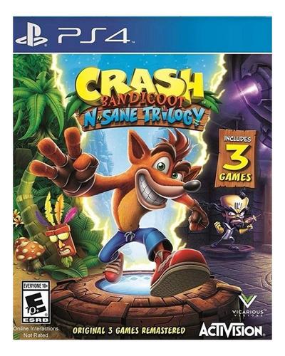 Imagen 1 de 4 de Crash Bandicoot: N. Sane Trilogy Standard Edition Activision PS4 Digital