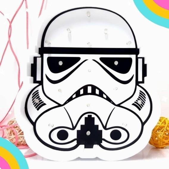 Stormtrooper Star Wars Guerra De Las Galaxias Lampara Polyfa