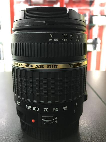 Lente Tamron Xr Di Ii 18-200 F3.5-6.3 P/ Canon 12x S/ Juros