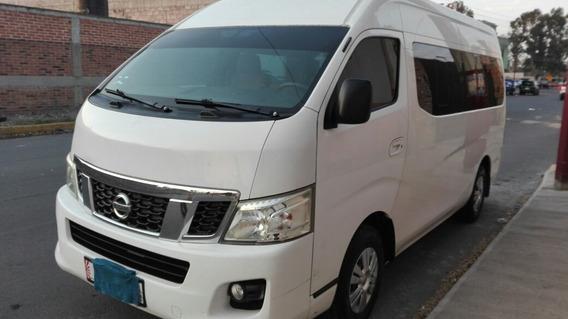 Nissan Urvan 2.5 15 Pas Amplia Pack Seguridad Mt 2014