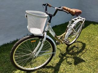 Bicicleta Retro Tomaselli Lady Paseo Dama R26 Inmaculada