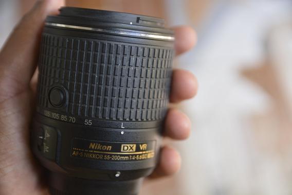 Nikkor 55-200 Mm Dx Af-s F/4-5.6 Ed Vr Ii