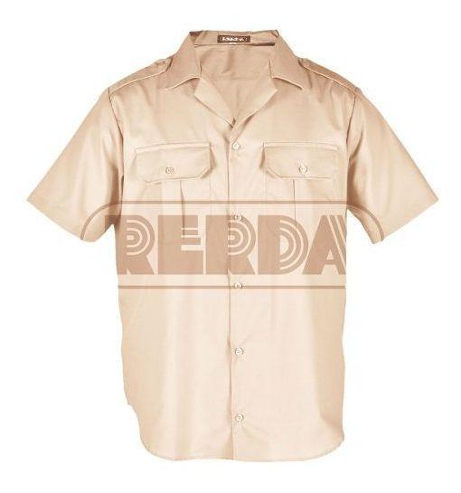 Camisa Manga Corta Rerda T:46-50 En Cuotas Envio Gratis