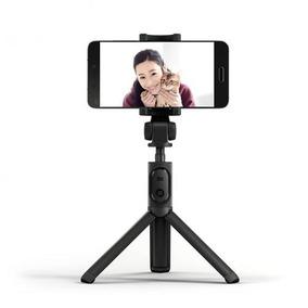 Tripé Pau De Selfie Xiaomi Monopé Controle Bluetooth iPhone