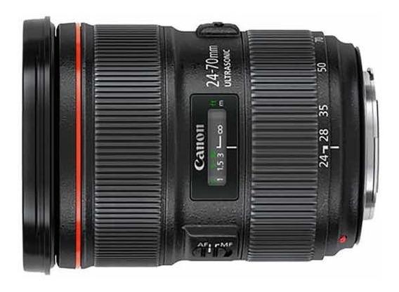 Lente Canon Ef 24-70mm F/2.8l Usm (nova)