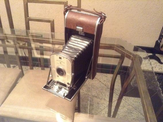 Antiga Câmera Polaroid Modelo 95a Vintage Eua Anos 50/60 Peça Para Colecionador.