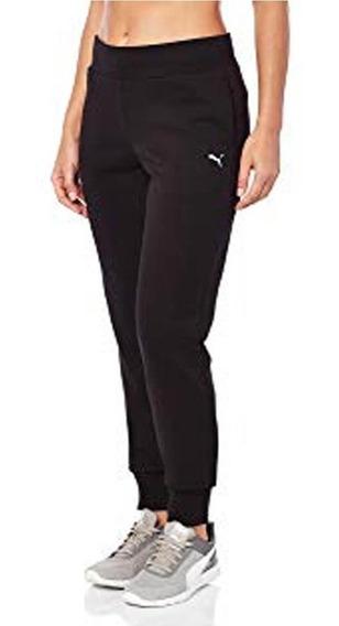 Pantalon Puma Essential Sweat Mujer Negro - Moda