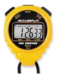 Cronómetro Diseño Deportivo Multiusos Color Amarillo