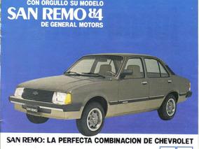 Chevrolet San Remo 1984 / 1995
