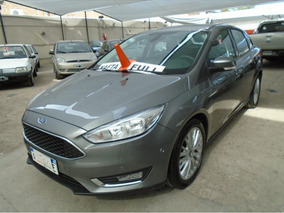 Ford Focus Iii 2.0 Se At 2018 Gris Financiamos!!