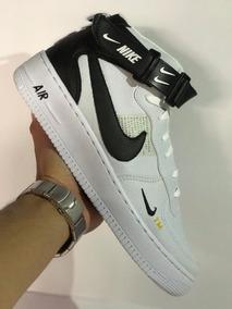 Tenis Nike Air Force Unissex Gratis Kit C/ 3 Pares De Meias
