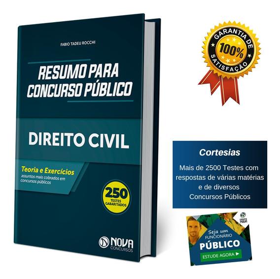 Apostila Resumo Para Concurso Público - Direito Civil