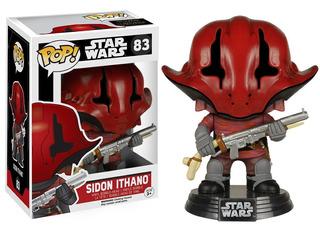Funko Pop Sidon Ithano 83 Star Wars Muñeco Original
