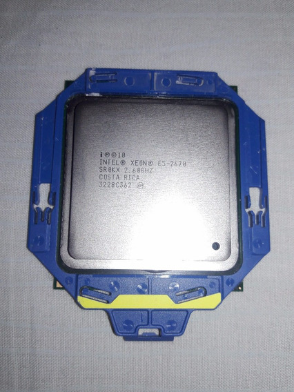 Intel Xeon E5-2670 Eight-core 64-bit - 2.60ghz 20mb Oem