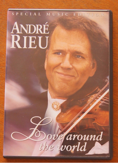 Dvd Andre Rieu - Love Around The World