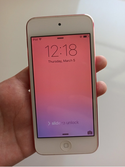 Apple iPod Touch 5ª Geração 64gb Rosa