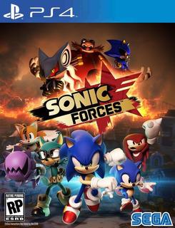 Sonic Forces Ps4 - Hobbiegames.cl