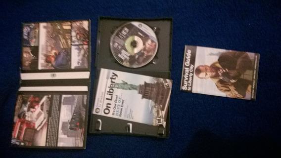 Gta Iv Pc Dvd Box De Lançamento Raridade Colecionador
