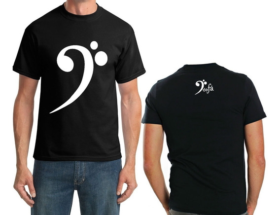 Camiseta Clave De Fá Masculino