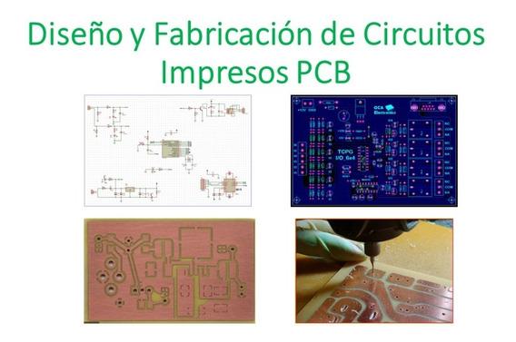 Diseño Y Fabricación De Circuitos Impresos Pcb