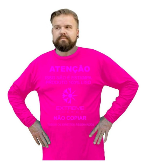 Camisa Térmica Plus Size Proteção Uv Extreme Thermo Mista