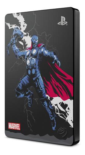 Imagen 1 de 2 de Disco 2tb Seagate Game Drive Ps4 Edición Especial Thor