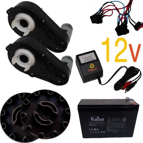 Kit Armado De Jeep A Bateria 12v Niños Cableado Acople Motor